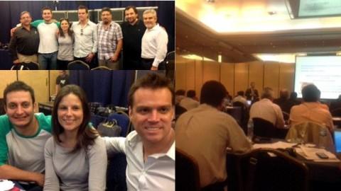 Congreso LAN-TAM 2013 en Bs. Aires.