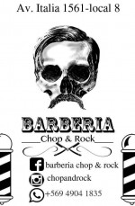 "Barbería ""Chop & Rock"""