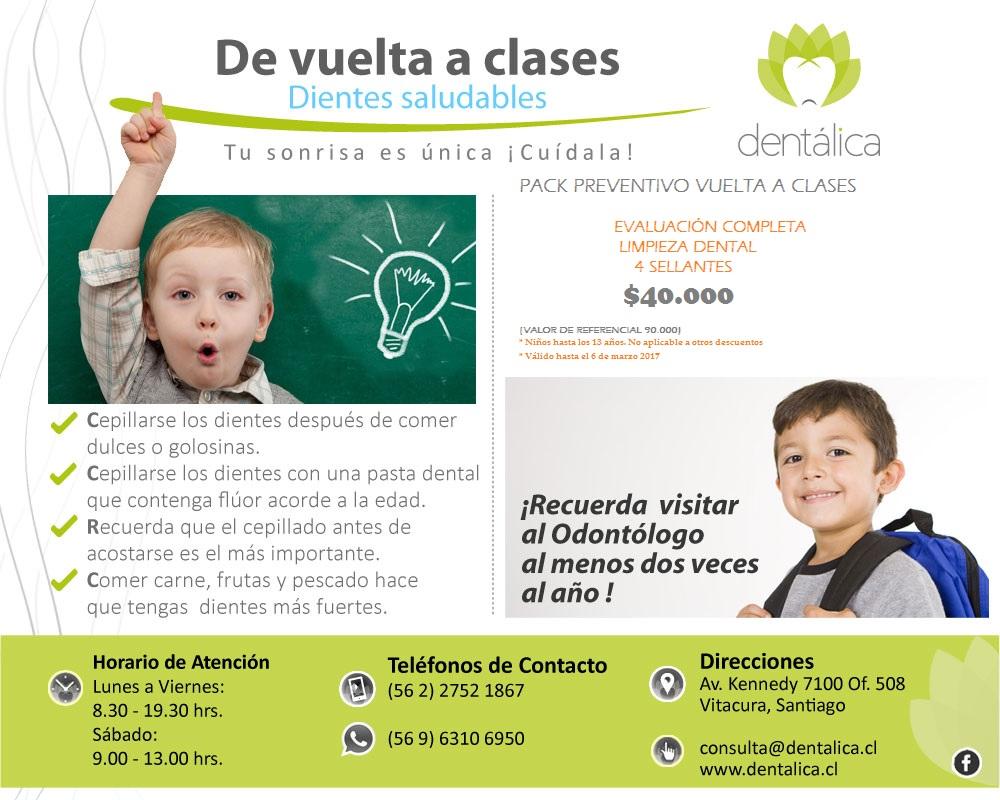 VUELTA A CLASES 2017
