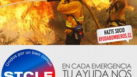 Ayudemos a bomberos, ¡hazte socio!