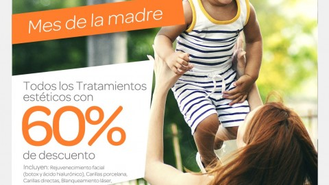 Promoción por mes de la madre en nuestro convenio dental con ProH