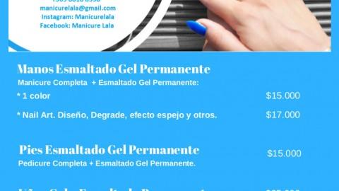 Nuevo convenio de Manicure y Pestañas: Ooh La Lá!