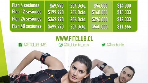 Precios especiales 2017 en nuestro convenio con FitClub