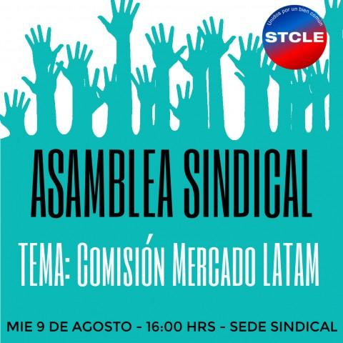 Asamblea Sindical por Comisión Mercado LATAM