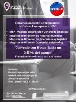 Hasta 50% en Becas con Universidad Gabriela Mistral