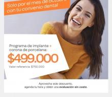 Promoción dental Octubre