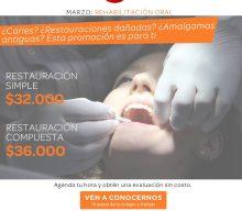 Promoción de tratamiento de caries en Proh