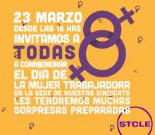 Invitación y saludo a todas las mujeres de Nuestro Sindicato