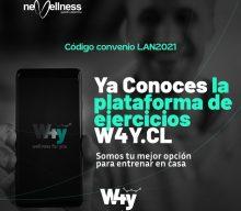 Nuevo convenio: W4Y Aplicación de Entrenamiento