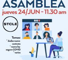 Asamblea: Jueves 24/JUN - 11:00 am
