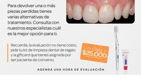 Evaluación dental gratuita, Giftcard y kit de limpieza de regalo en Proh